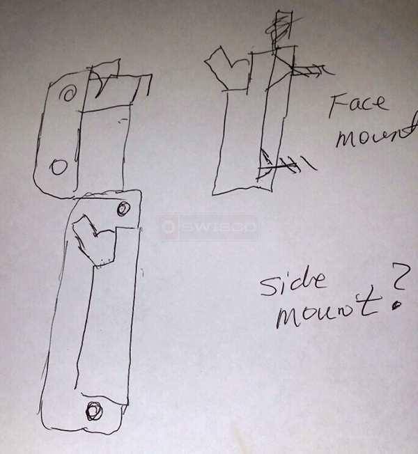 User submitted a diagram of a vent lock.