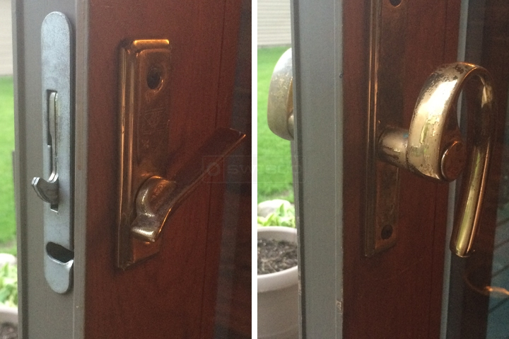 Anderson Exterior Sliding Patio Door Lock Swisco Com