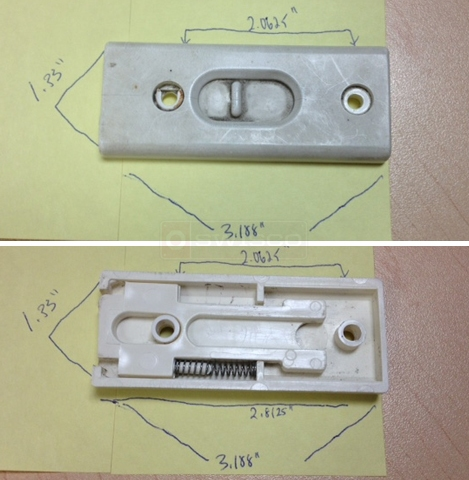 User submitted photo of their window latch.