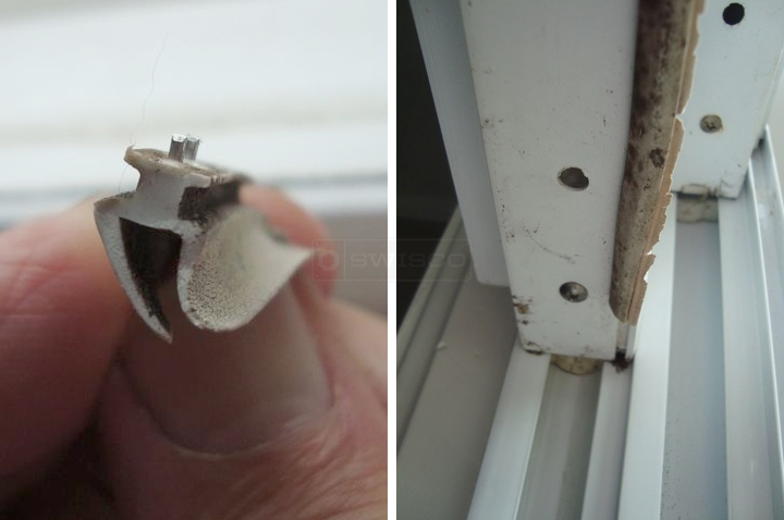 User submitted a photo of weatherstripping.