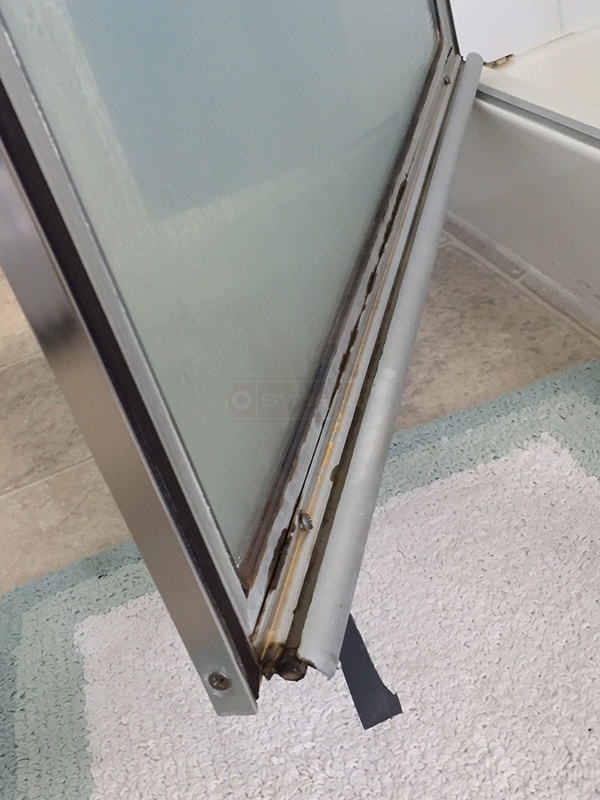 User submitted a photo of a shower door sweep.
