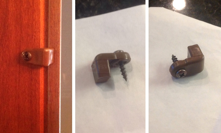 User submitted photos of a retainer clip.