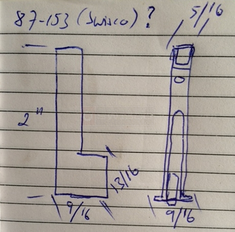 User submitted a diagram of a window roller.