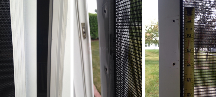 User submitted photos of a screen door.