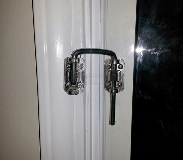 User submitted a photo of a lock.