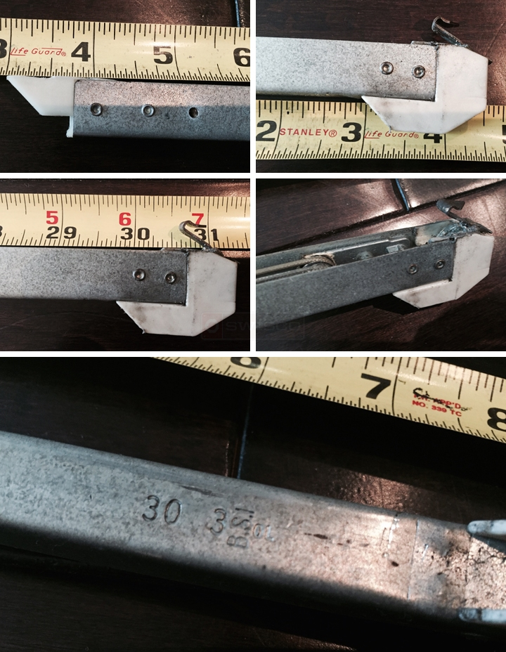 User submitted photos of a window balance.
