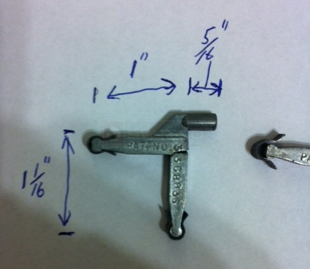 User submitted photos of a corner key.