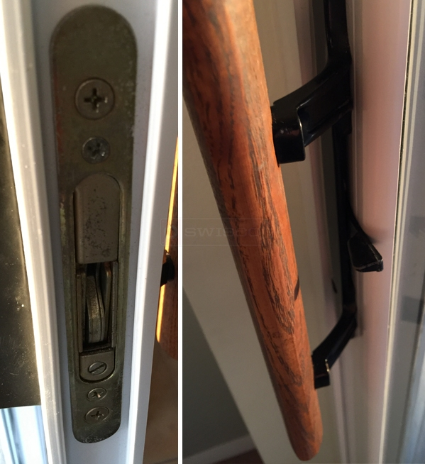 User submitted photo of their door hardware.