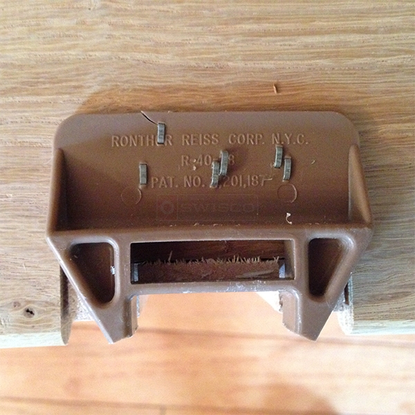User submitted a photo of a drawer guide.