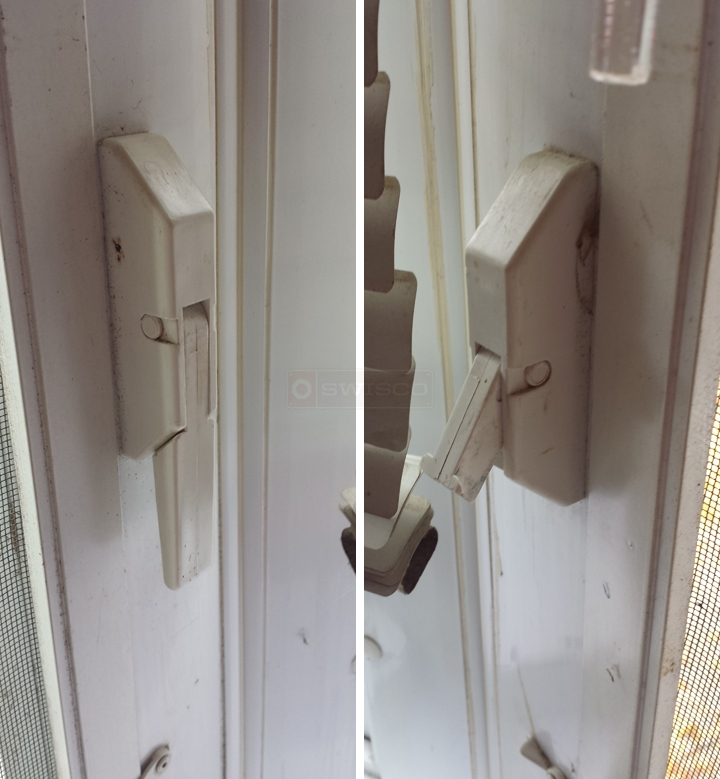 User submitted a photo of a window lock.