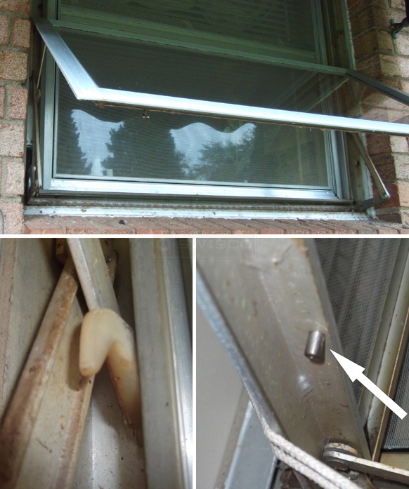 User submitted photo of their window hardware.