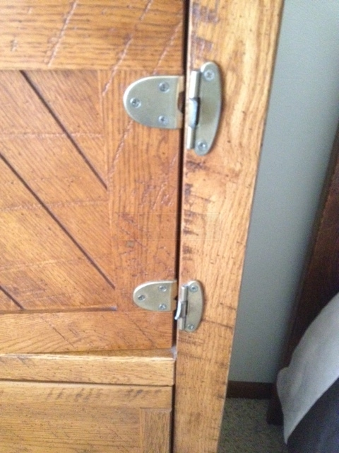 User submitted a photo of door hardware.