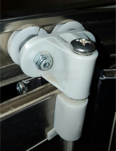 User submitted photo of their lavatory hardware.