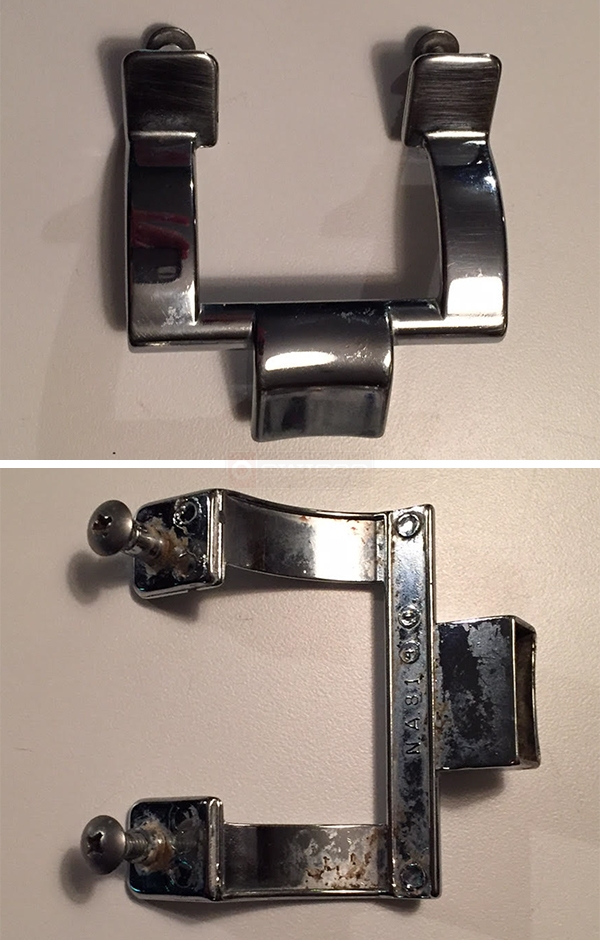 User submitted photos of a shower door handle.