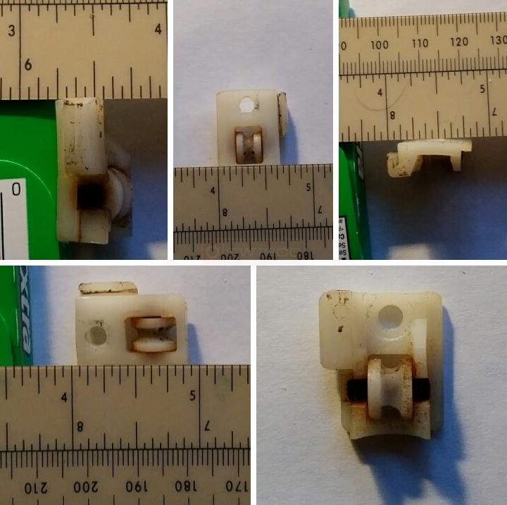User submitted photos of a window roller.