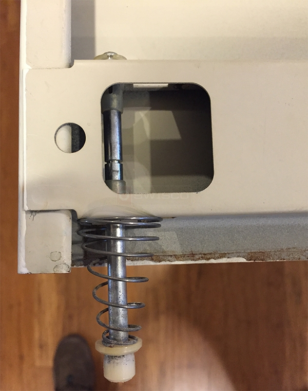 User submitted a photo of a bi-fold door pivot pin.
