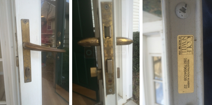 I need a replacement door handle for a Cole Sewell storm door Ive ...
