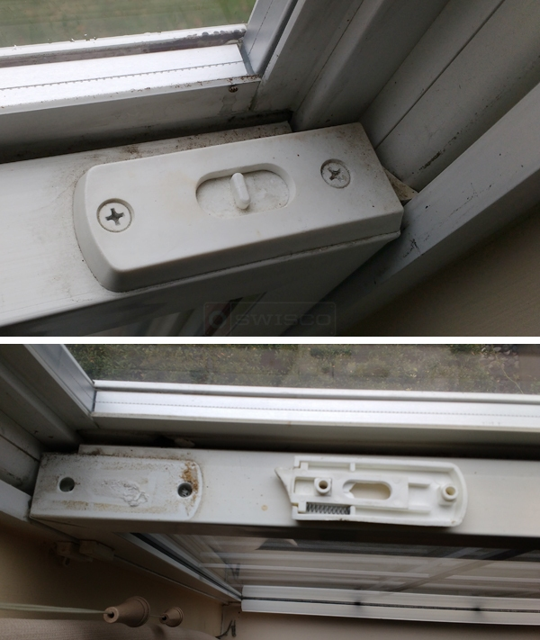 User submitted photos of a tilt latch.