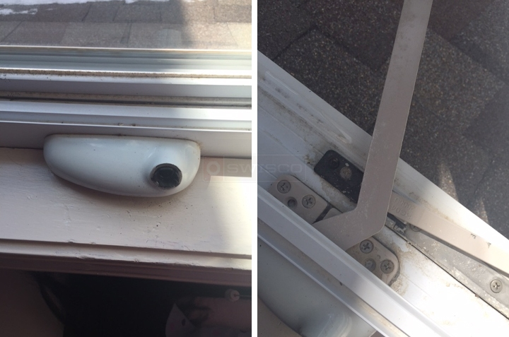 User submitted photos of a window operator.