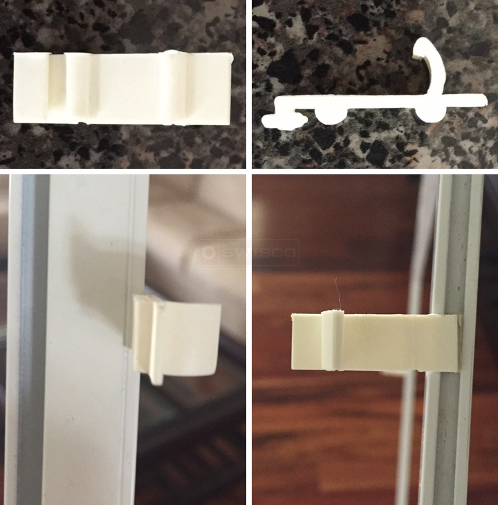 User submitted photos of a screen clip.