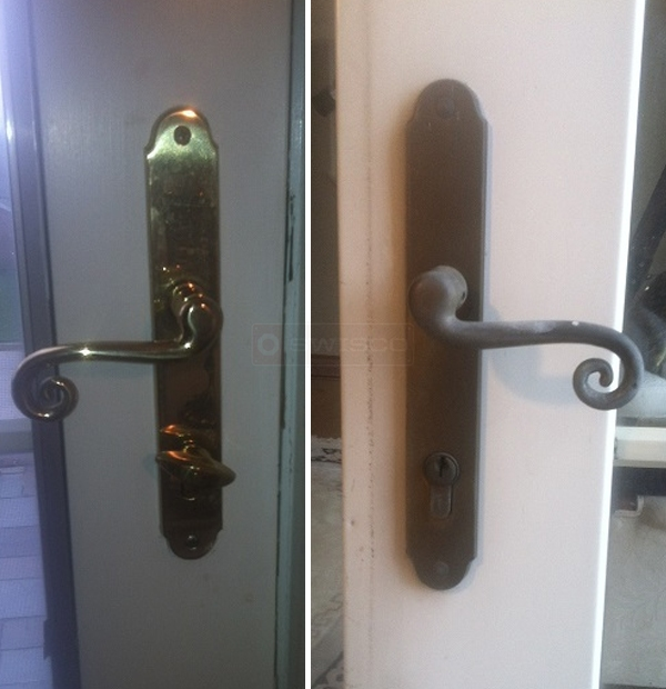 User submitted image of their door hardware.