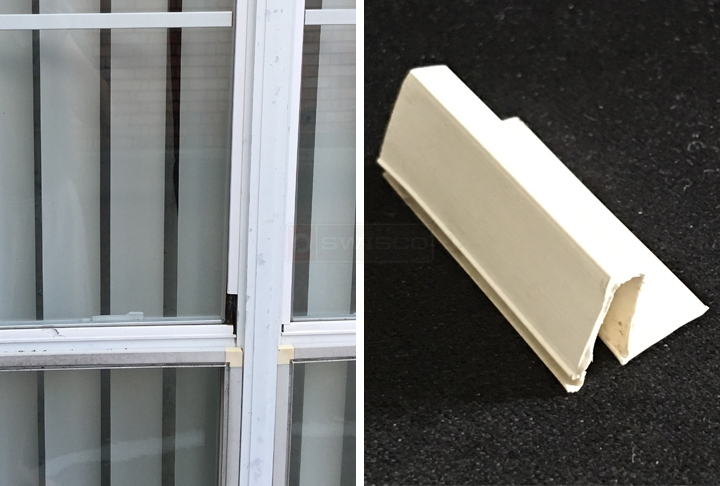 Window Glazing Bead Replacement : Snap in vinyl glazing bead product code