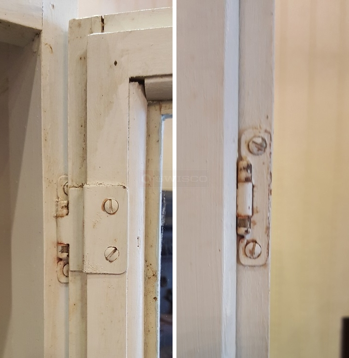 User submitted photos of a cabinet hinge.
