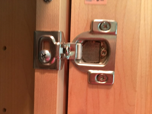 User submitted a photo of a cabinet hinge.