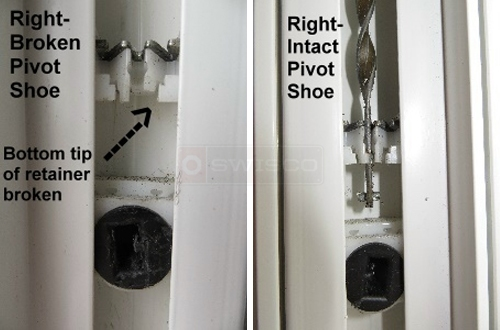 User submitted photos of a pivot shoe.