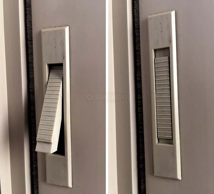 User submitted photos of a vent lock.