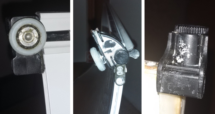 Maax shower door rollers and bumper : SWISCO.com