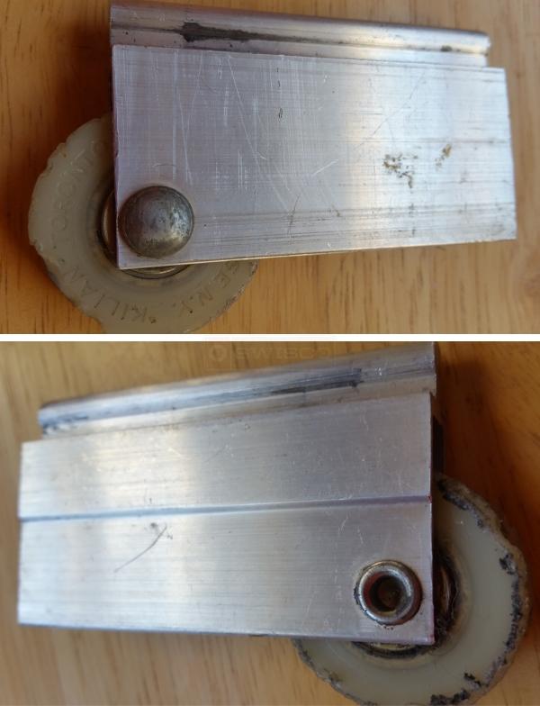 Bottom Roller For Mirror Sliding Closet Door Swisco Com