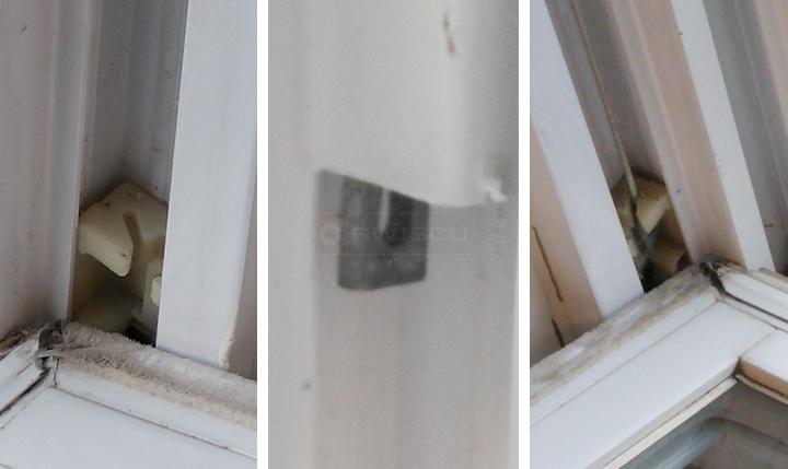 Repair Of Tilt Window Double Hung Vinyl Window Right Hand