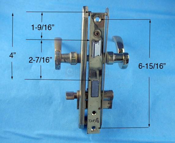 Mortise Latch Replacement For Dfa Larson Storm Door