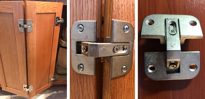 User Submitted Photos Of A Cabinet Hinge