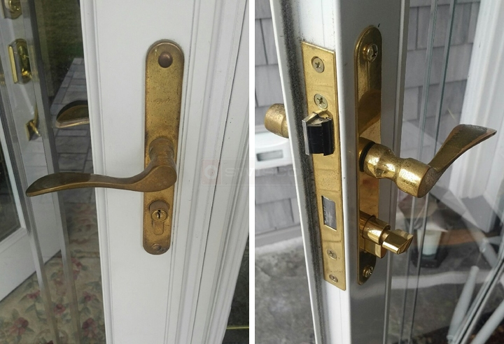 user submitted photos of storm door hardware