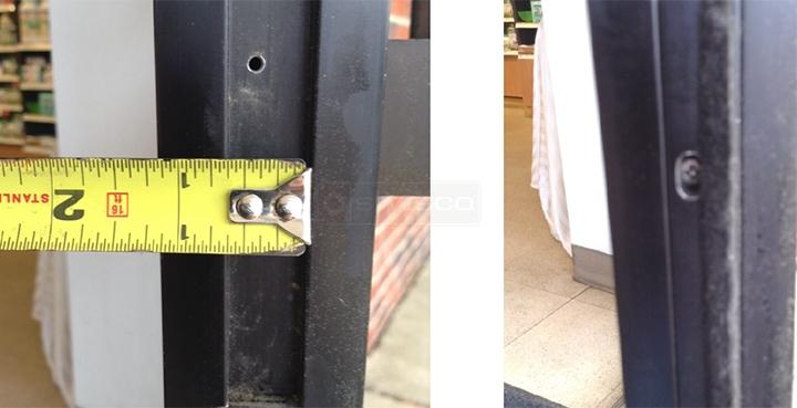 User submitted photos of weatherstripping. & door felt for Adams Rite Door : SWISCO.com