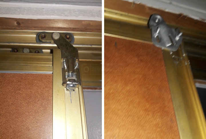user submitted photos of closet door hardware