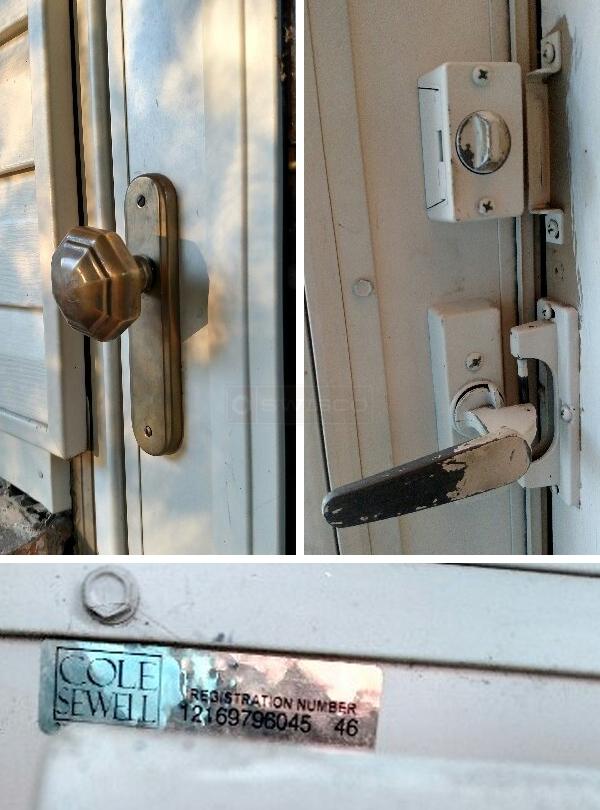Cole Sewell Storm Door 12169796045 46 Door Latch Set