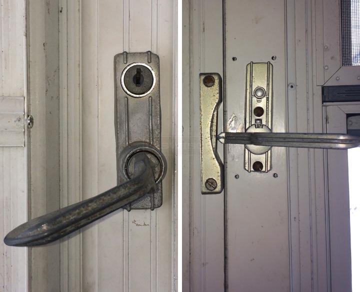 Searching For Left Hand In Swinging Storm Door Lock Se