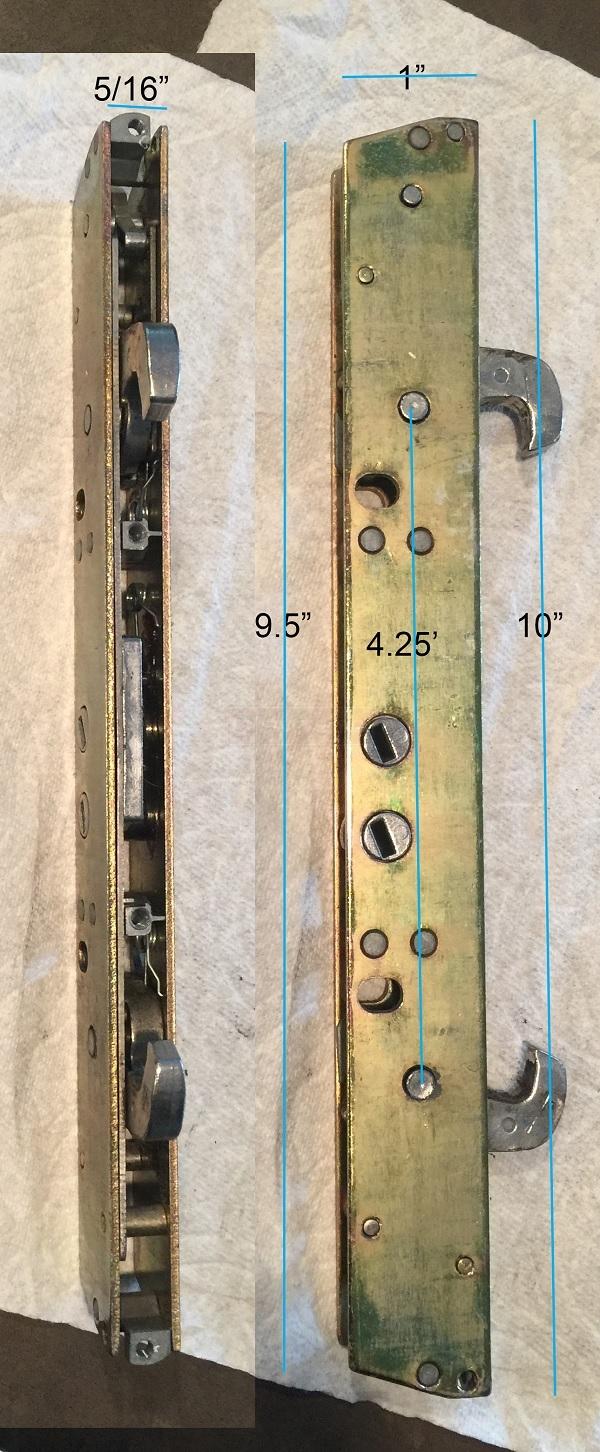 Double Hook Mortise Lock For Sliding Glass Door Swisco Com