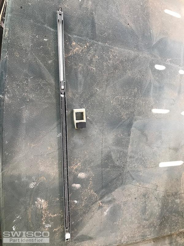 2 parts Window channel 24 Labeled 24d pc bsi And window ...